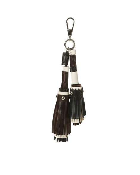 Orciani BULL LEATHER CHARM