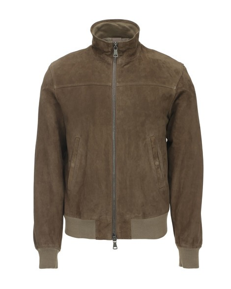 Orciani CAMOSCIO SUEDE LEATHER JACKET