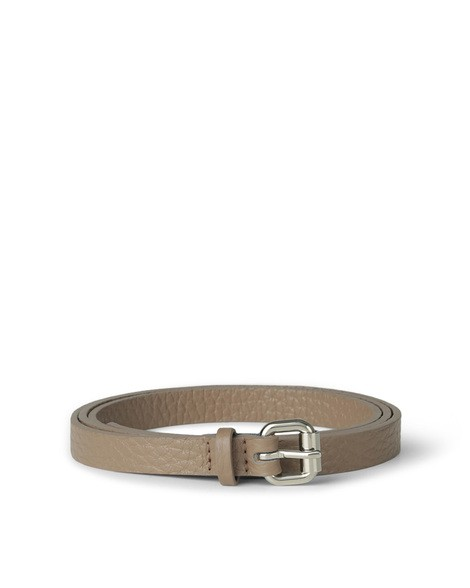 Orciani SOFT LONG TIP LEATHER BELT