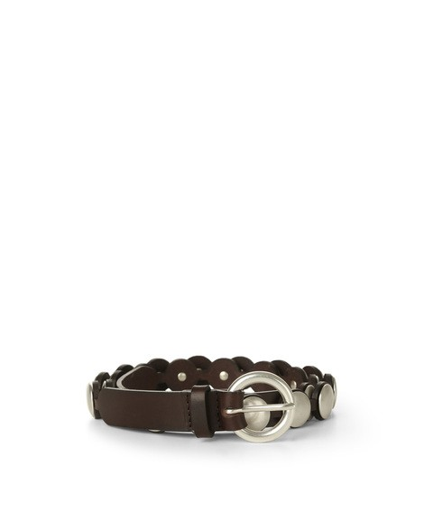 Orciani BULL STUDDED LEATHER BELT