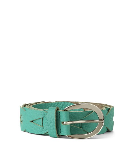 Orciani SOFT DOUBLE WOVEN LEATHER BELT