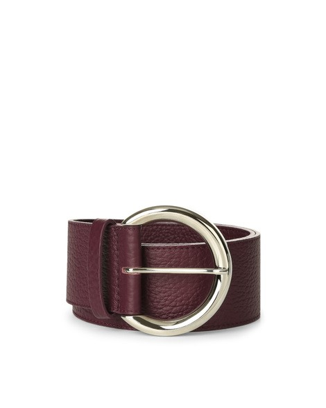 Orciani SOFT HIGH WAIST LEATHER BELT