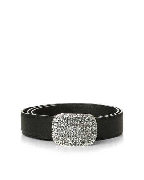 Orciani CHIFFON JEWEL LEATHER BELT