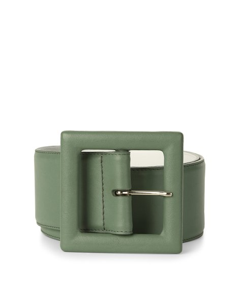 Orciani LOTUS HIGH WAIST LEATHER BELT