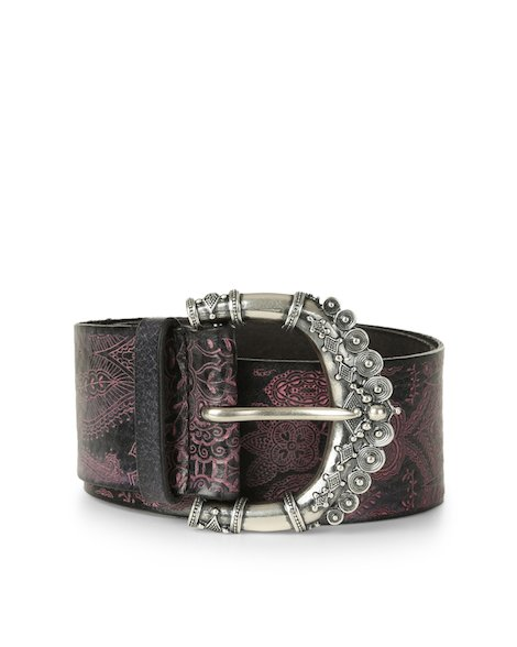 Orciani STAIN COLOR LEATHER BELT