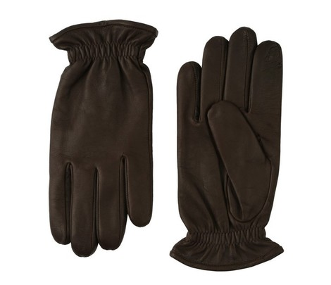 Orciani NAPPA WASHED LEATHER GLOVES