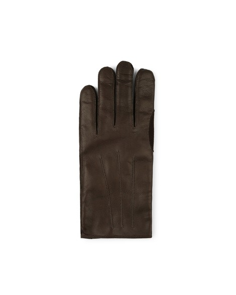 Orciani NAPPA FLAKE LEATHER GLOVES