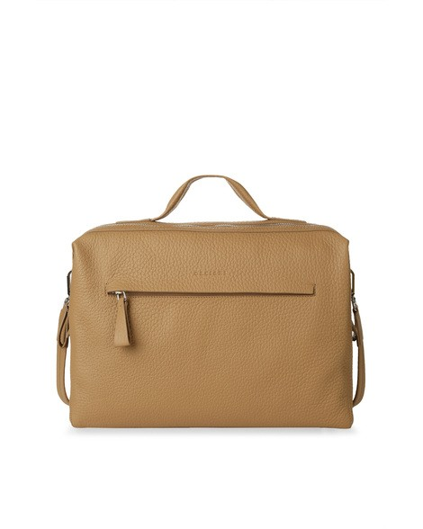 Orciani SOFT LEATHER DUFFLE BAG