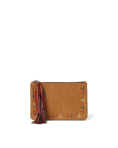 Orciani SOUL LEATHER POUCH