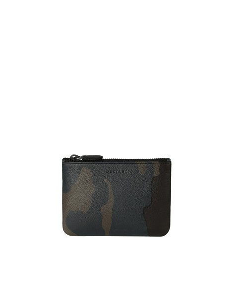 Orciani MIMETIC LEATHER POUCH