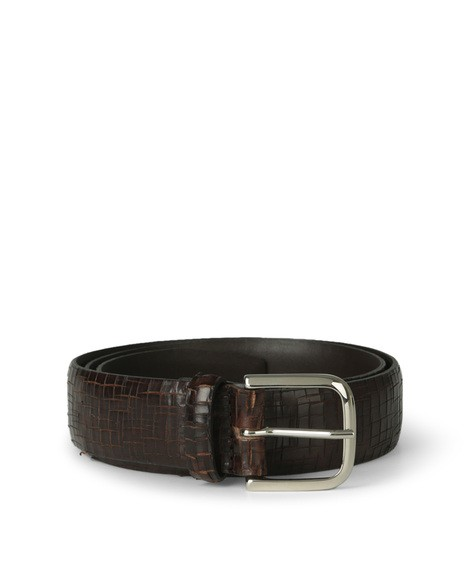 Orciani WAKE LEATHER BELT