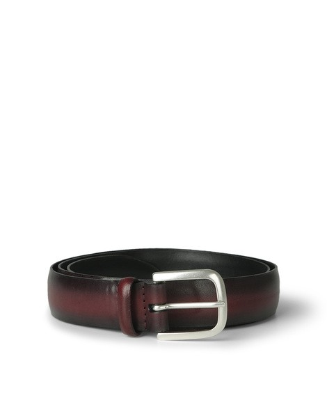 Orciani NEW BUFFER LEATHER BELT
