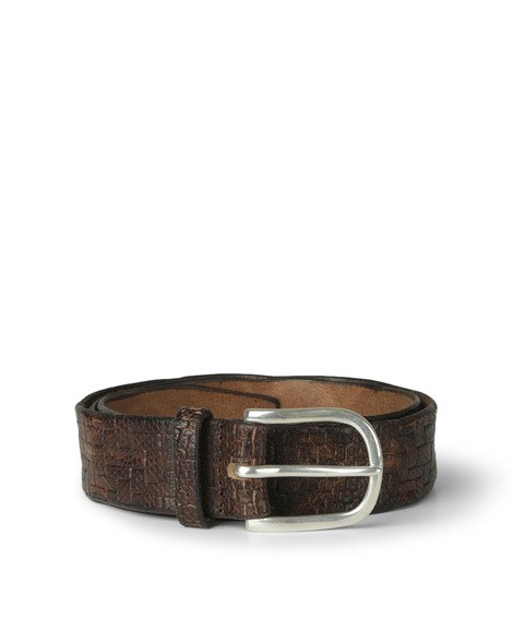 Orciani STRAW LEATHER BELT