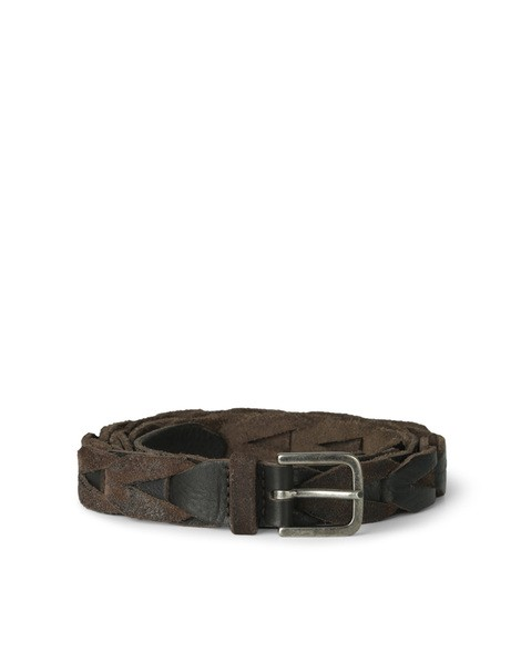 Orciani HUNTING UP+DOWN WOVEN SUEDE BELT