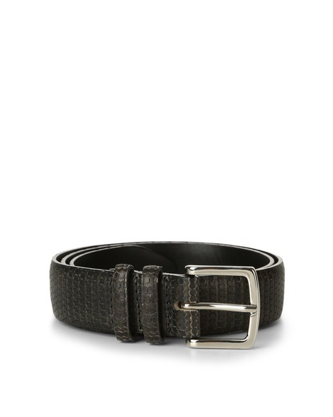 Orciani HIVE LEATHER BELT