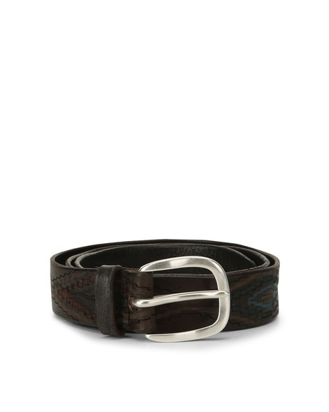 Orciani MEXICO LEATHER BELT