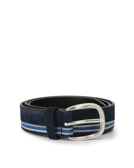 Orciani CLOUDY LINE SUEDE BELT