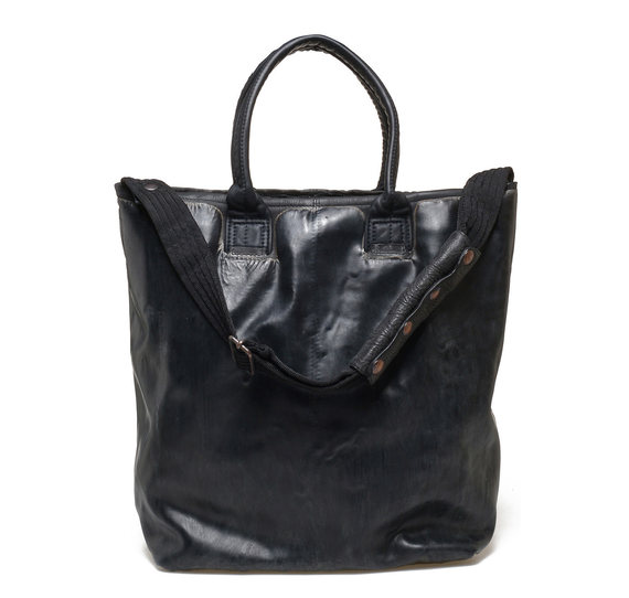 Shopper bag total black