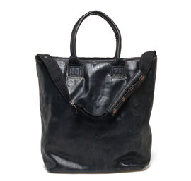 Total black shopping bag