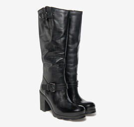 Kevin high<br />cut leather boots