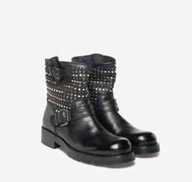 Kevin<br />metal studded boots