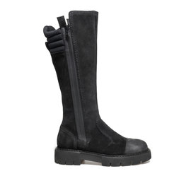 Amtrac<br />Split leather boots with high-tech zip
