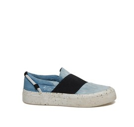 Humvee<br />Denim slip-on with stretch band