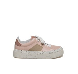 Humvee<br />Light dusty pink-coloured lace-up leather shoe