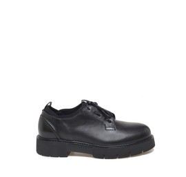 Black calfskin shoes