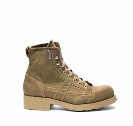 Men's John half boot in desert military green