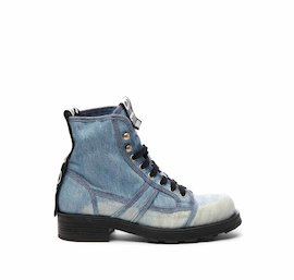 John half boot in denim