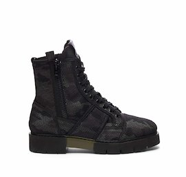 Amtrac military boot in camouflage mesh