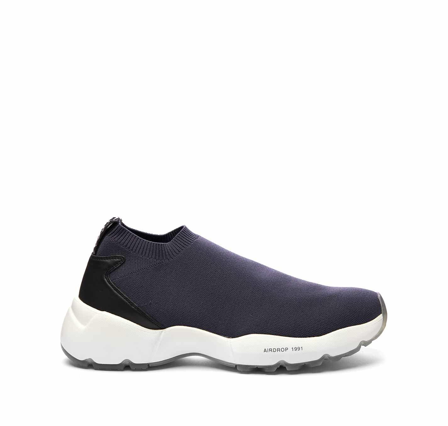 Running Sock Airdrop Low Cut Blu - Blu Bianco oxs neri Da corsa Sc8tQey2dG