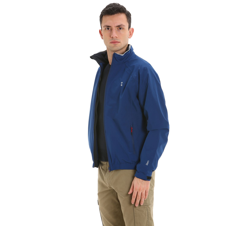 Siffert waterproof and windproof men's jacket - Summer Blue