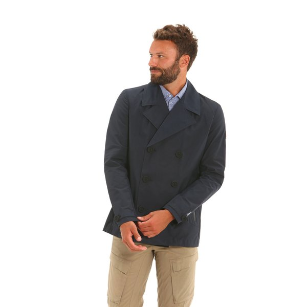E15 water-repellent and windproof men's double-breasted jacket