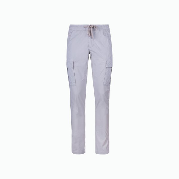 Men's trousers A77 cargo with elastic drawstring