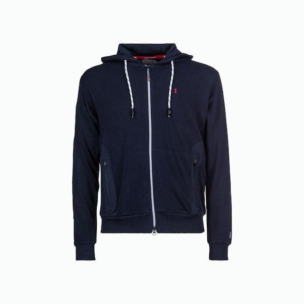 C109 zip sweatshirt and Cotton hood man