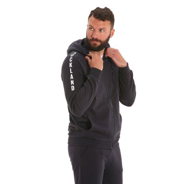 G51 men's hooded full-zip sweatshirt in organic cotton