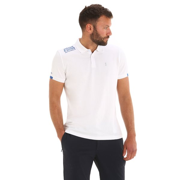 G81 men's short-sleeved polo shirt in organic cotton
