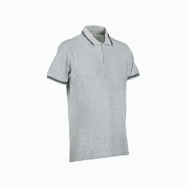 New ss racing polo shirt man in cotton pique