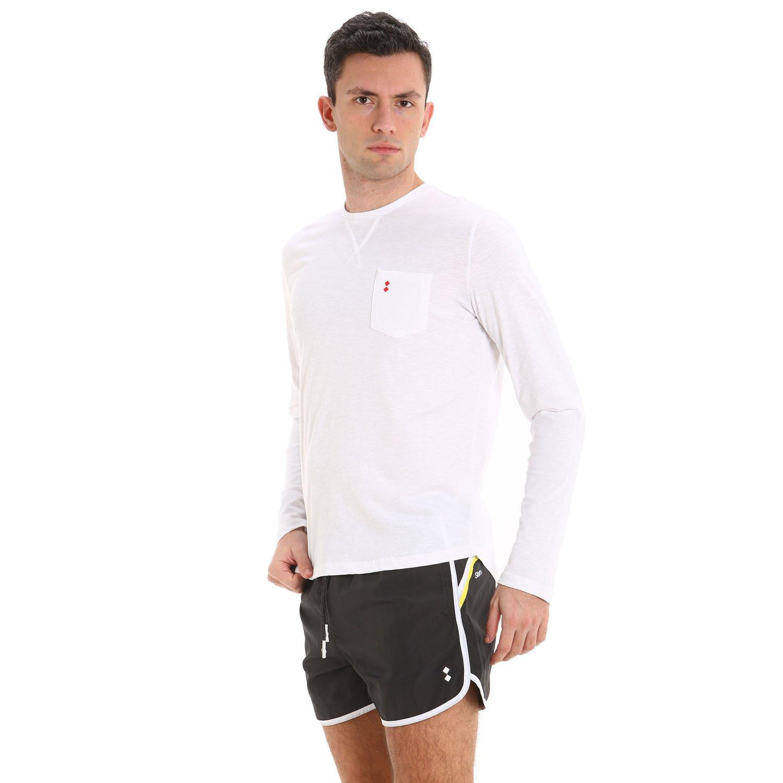 C33 men's light nylon swim trunks - Iron Grey