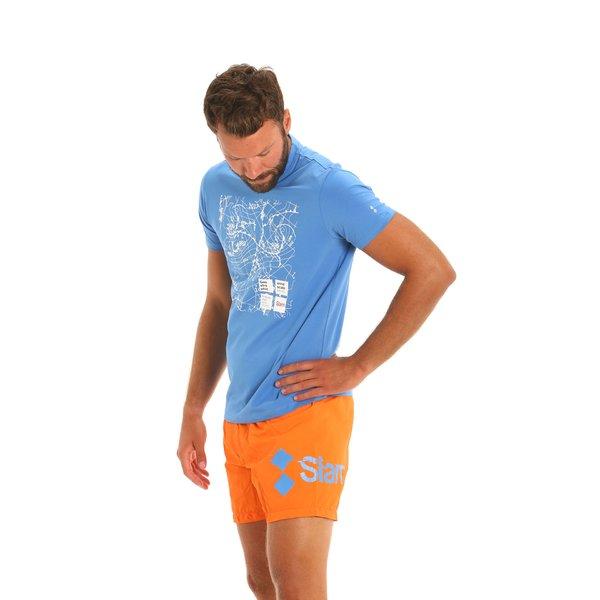 E166 men's nylon swim trunks