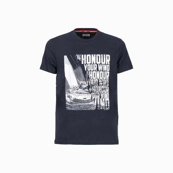 C170 men's t-shirt in Cotton with two colors print