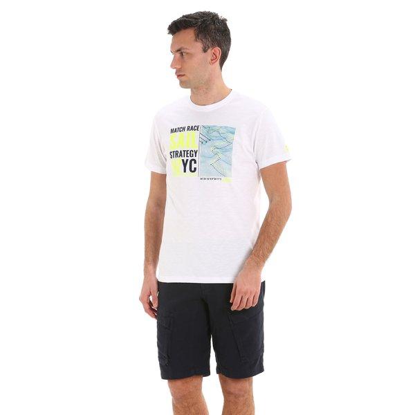 G108 men's short-sleeved crew-neck cotton t-shirt