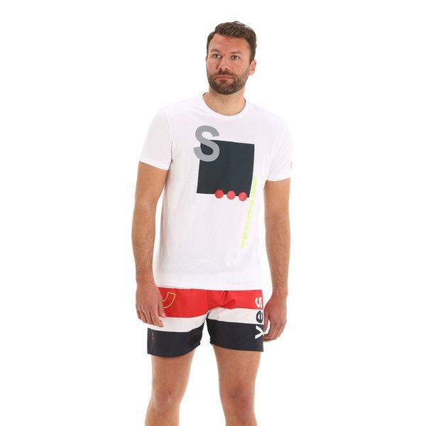 G97 men's short-sleeved crew-neck cotton t-shirt