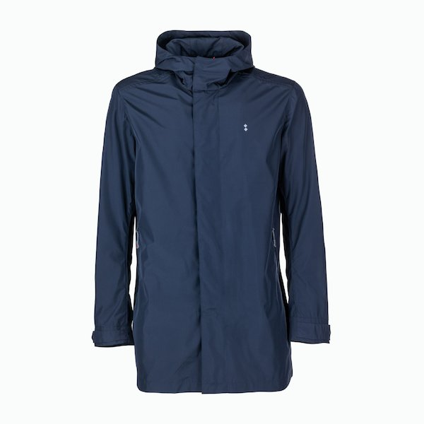 Pintler men's jacket in polyester with trench details