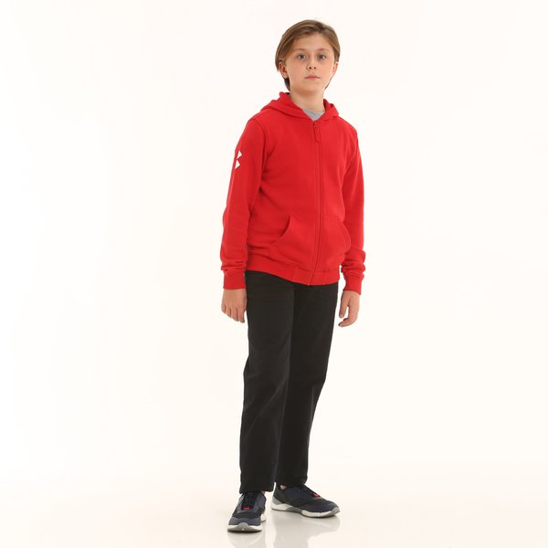 Junior trousers D399 in stretch cotton twill