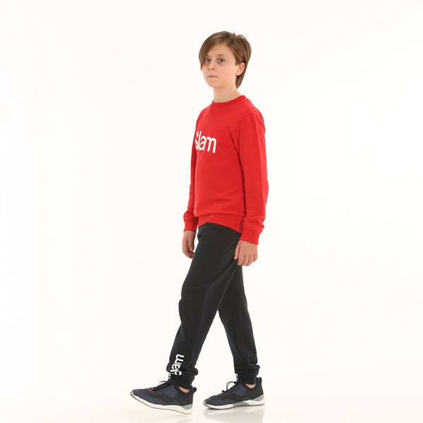Junior sweatpants D196 in french terry cotton