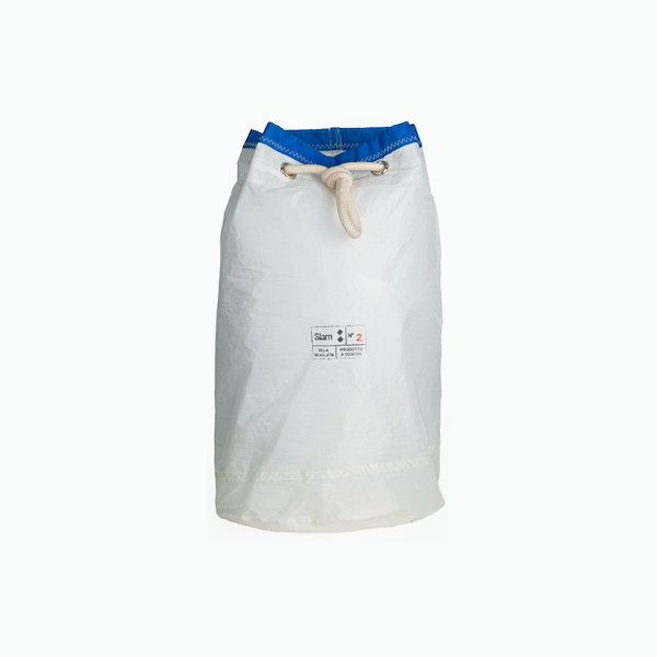 Recycled Sail Sack backpack in recycled sail