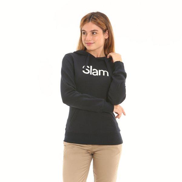 Women sweatshirt D657 in french terry cotton